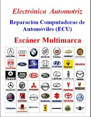 Ecu electronica automotriz  escaner diagnostico reparación
