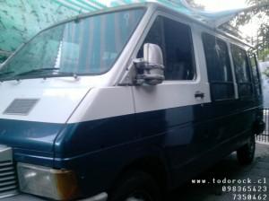 minibus renault trafic 1993 impecable vendo/permuto