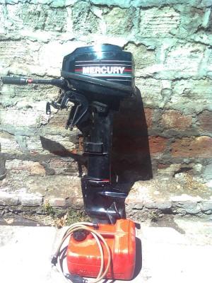 motor mercury 15 hp pata larga