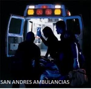 24 horas ambulancias san andres