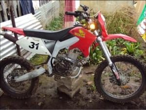 motocross motorrad mx250