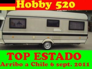 CASA RODANTE HOBBY 520 ALEMANA IMPECABLE WWW.HH21.CL