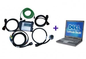 MB SD Connect Compact 4 Star Diagnosis Tool 05-2012 Plus Dell D630 USD818