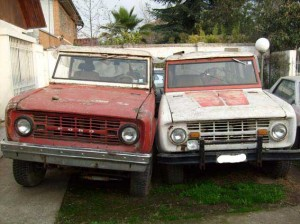 Vendo 2 Ford Early Bronco para restaurar!!!