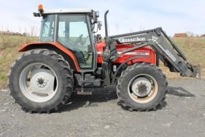Tractor massey ferguson 4270 q960 cargador a�o 2001 efecto 110 6 l 411
