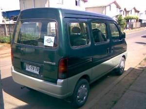 vendo furgon suzuki mastervan año 2000 en los angeles solo dos dueños