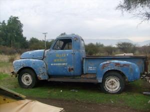 vendo camioneta chevrolet 1951