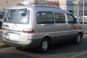 Hyundai Starex (H-1) 2001, Turbo Diesel, 2,5 cc, 12 Pasajeros, Full