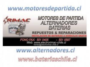 baterías instalacion gratis a domicilio, alternadores,motores de partida