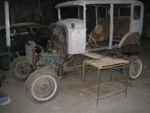 ford A clasico 1930 para restaurar