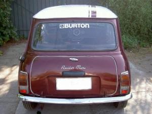 austin mini 1980 de lata bonito $650.000