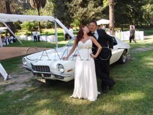 Se arrienda auto Camaro año 71