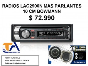 RADIO LG LAC-2900N
