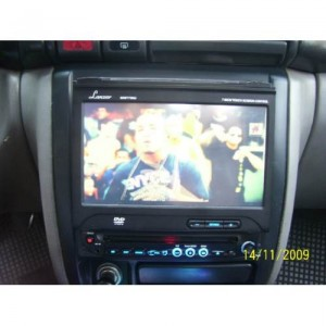 Radio/dvd Lanzar Sdbt 75 Nu Touch In Dash Con Bluetooth