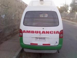 vendo como furgon o ambulancia