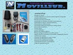Servicio de instalación y venta de accesorios de vehiculos movillsur
