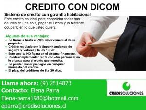 Crédito con Dicom, sistema serio y formal