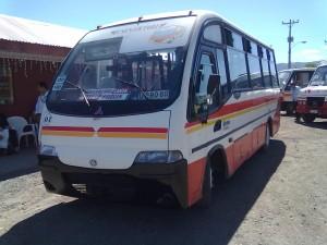 se vende microbus mitsubishi modelo aysen