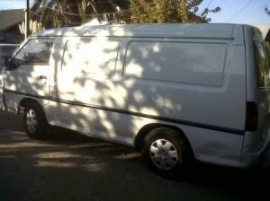 furgon hyundai catalitico de carga año 95 $1450000ñuñoa
