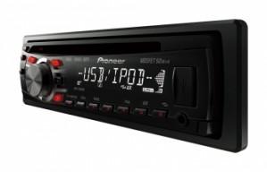 Radio pioneer deh-3350ub cd/mp3/wma usb frontal  entrada aux