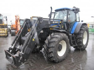 tractor agrícola new holland tm 190 frontlader 50km/h