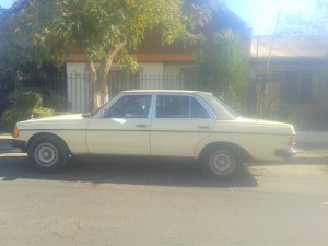 auto classico mercedes benz año 1979(diesel)