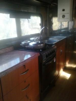 Bus mercedes benz año 1973 transformada en casa rodante