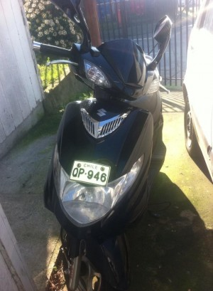 Vendo moto suzuki an 125 año 2014