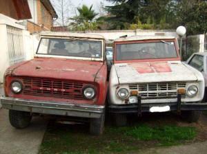 Vendo 2 Ford Early Bronco para restaurar!!!