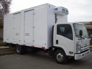 Arriendo camion refrigerado 5.000 kl con permiso sanitario