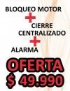 ALARMA BULLDOZER + CIERRE CENTRAL+BLOQUEO DE MOTOR
